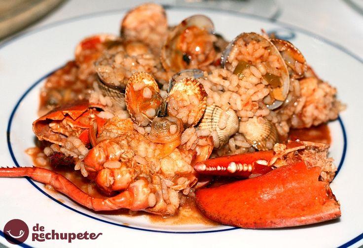#RECETAS_en_ESPAÑOL / Receta de arroz con bogavante - Recetasderechupete.com http://www.recetasderechupete.com/como-preparar-el-mejor-arroz-con-bogavante/8702/