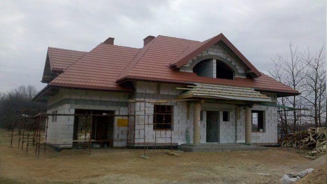 budowa domu Rubin  #dach #projekt #budowa
