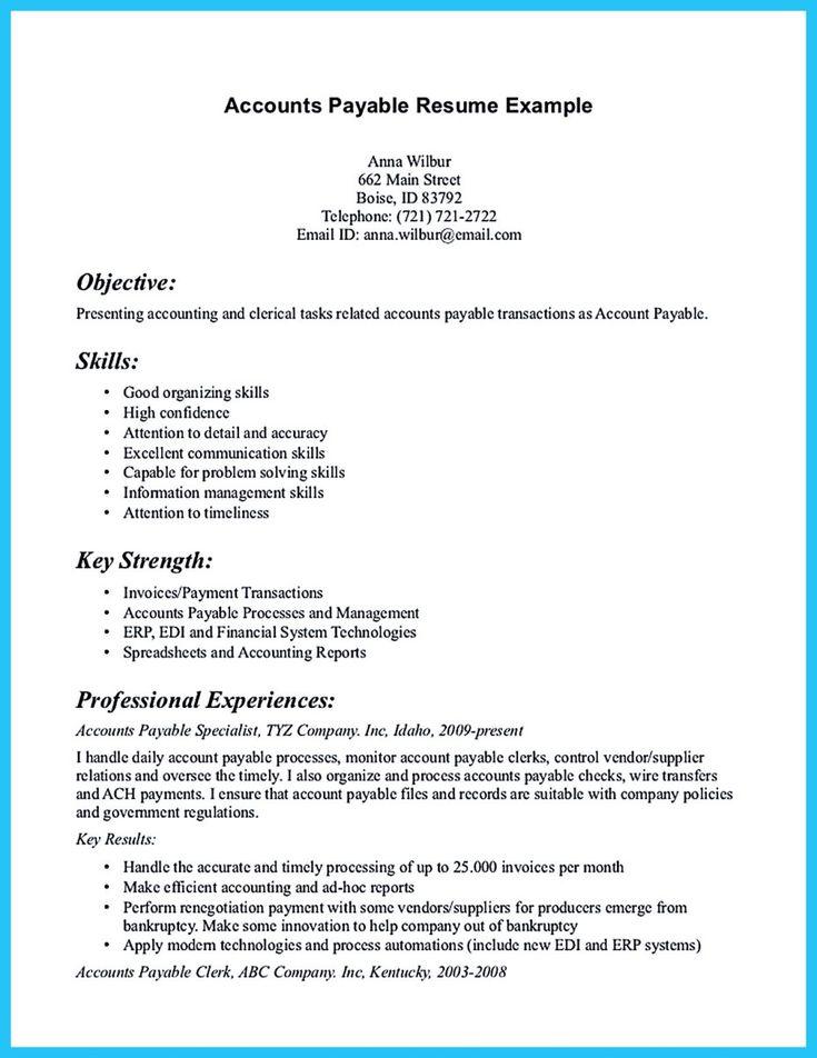 Key Strengths Resume 25 Unique Sample Resume Ideas On Pinterest  Key Strengths Resume