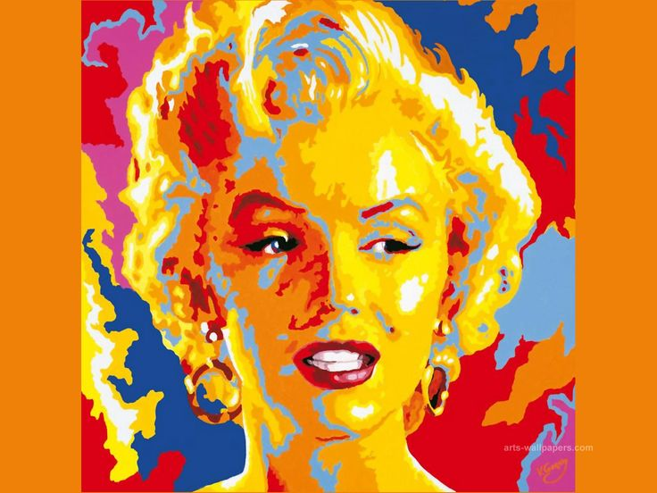 Marilyn Monroe Oil Painting
