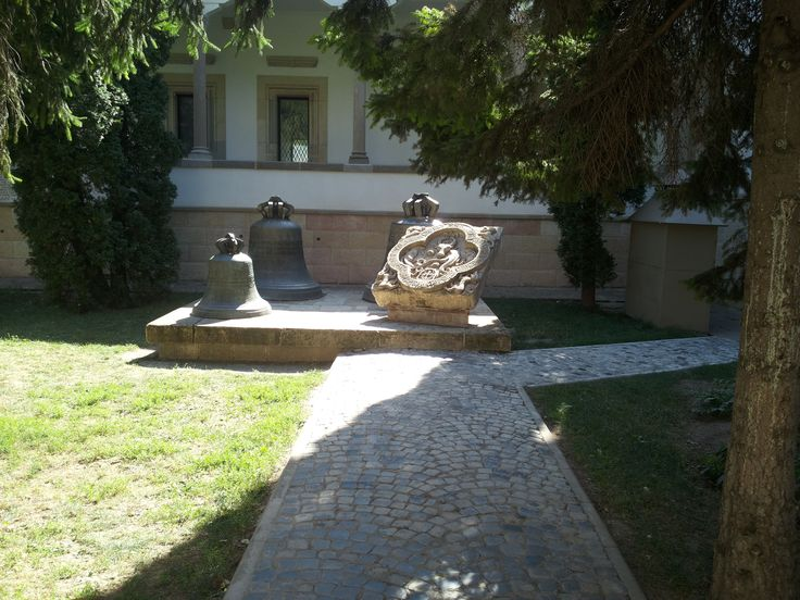 """The inner courtyard of the monastery """"Holy Three Hierarchs"""", Iasi"""