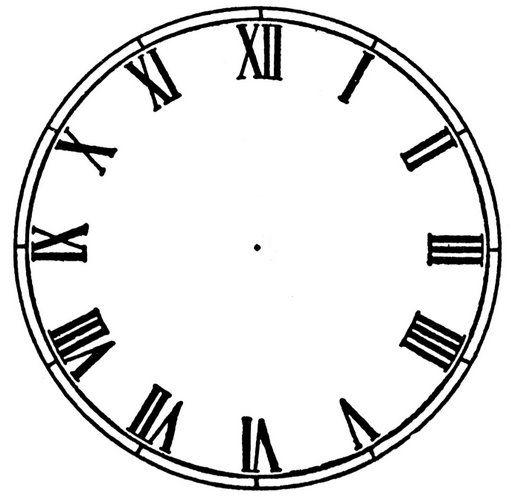 free clock face printables - Google Search | New Years Eve ...