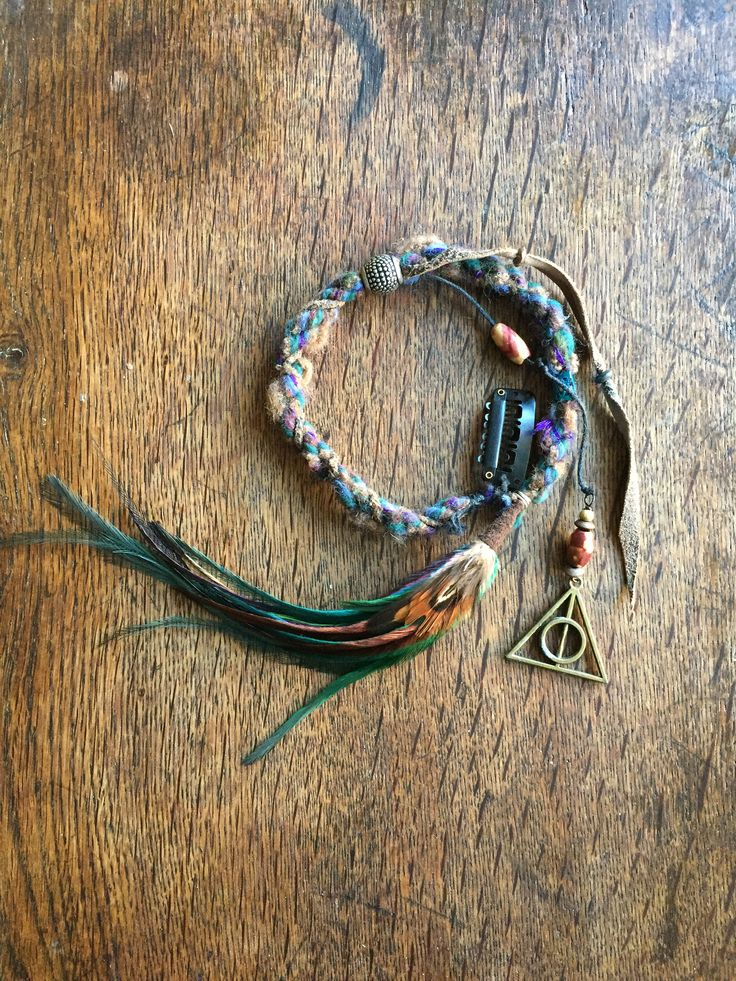 A personal favorite from my Etsy shop https://www.etsy.com/listing/523360328/hippie-hair-wrapdreadlock-extensionssilk