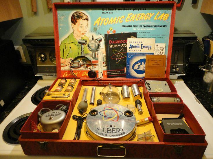 A C Gilbert Atomic Energy Lab 1950, 1951, U-238   Labs and ...