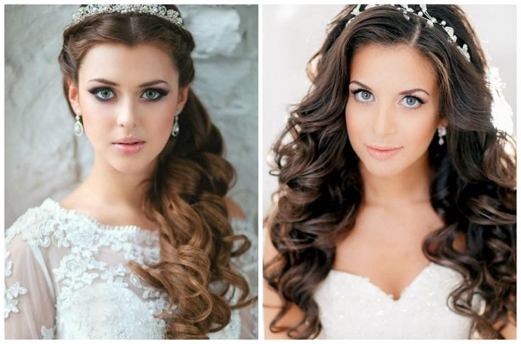 Half Up Half Down Wedding Hairstyles For Long And Medium Length Hair