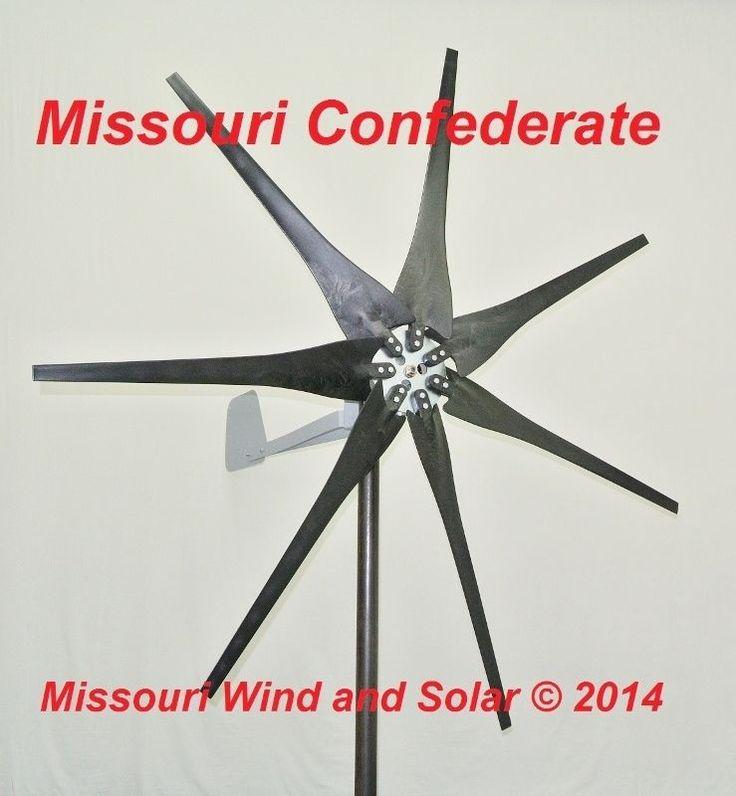 Wind turbine 500 watt 7 blade 12 volt DC output wind turbine  LOT 8 USED  | Home & Garden, Home Improvement, Electrical & Solar | eBay!