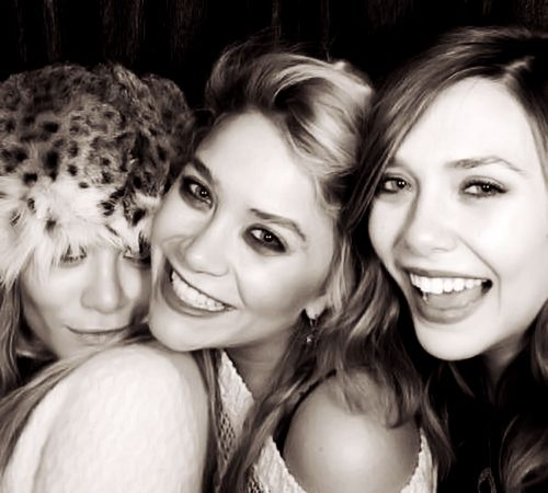 Ashley, Mary-Kate and Lizzie Olsen