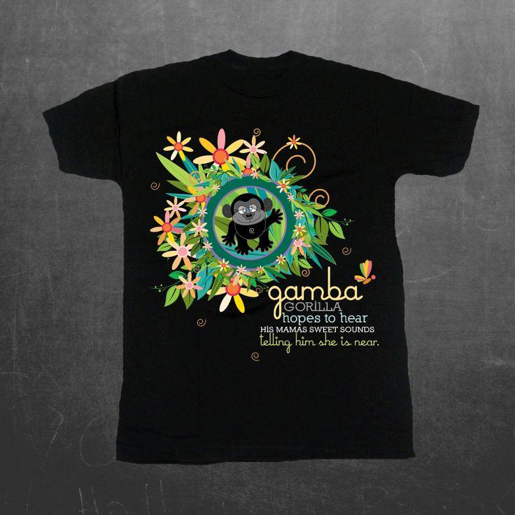 Sadness today. Sales of Gamba Gorilla shirts will go to @SavingGorillas #JusticeForHarambe https://www.etsy.com/shop/jillyjellybugs