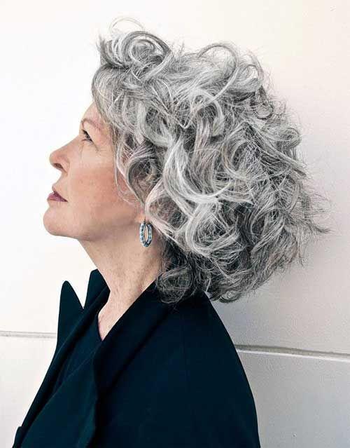 Resultado de imagen para cabellos grises para mas de cincuenta