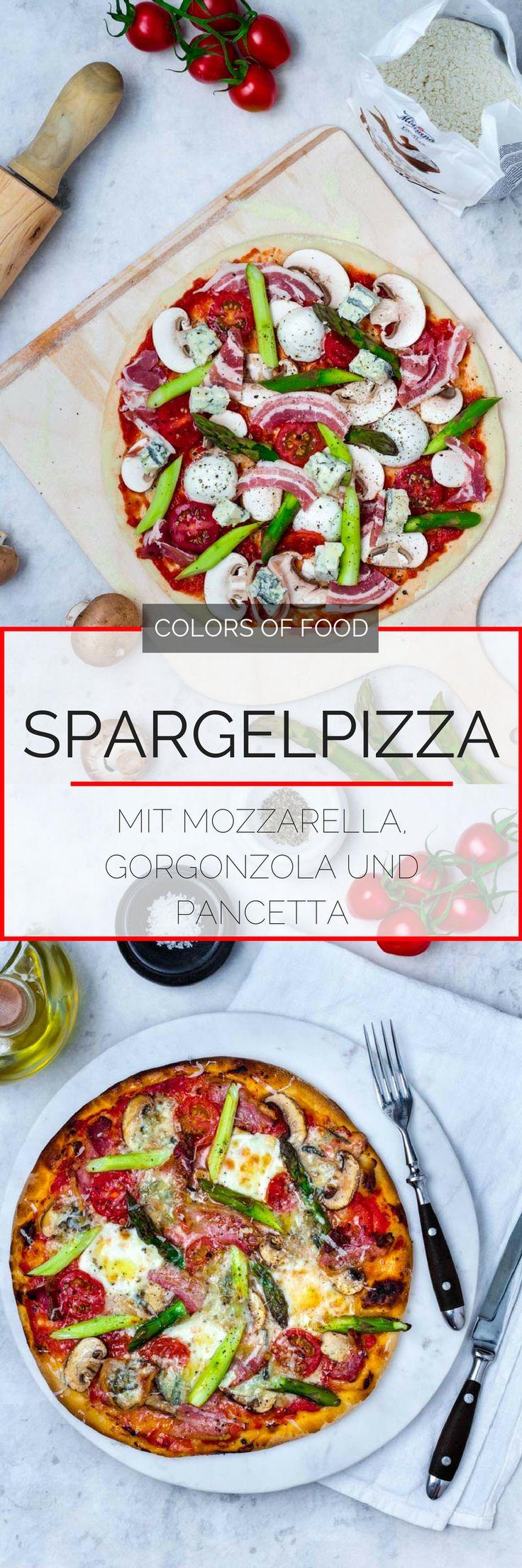Verwandle deine Küche in eine italienische Pizzastube! Das Rezept für eine würzige Spargelpizza mit einer extra Portion Käse und Pancetta findest du hier.
