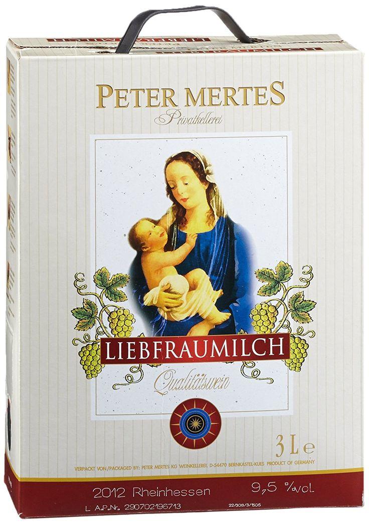 https://www.vinothekum.de   Peter Mertes Liebfraumilch Bag-in-Box  Der Liebfraumilch Qualitätswein von Peter Mertes ist ein traditioneller, lieblicher