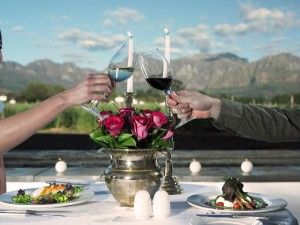 V is for Valentine's Week at Nederburg.Dine out in style with  Nederburg's The Red Table Restaurant.
