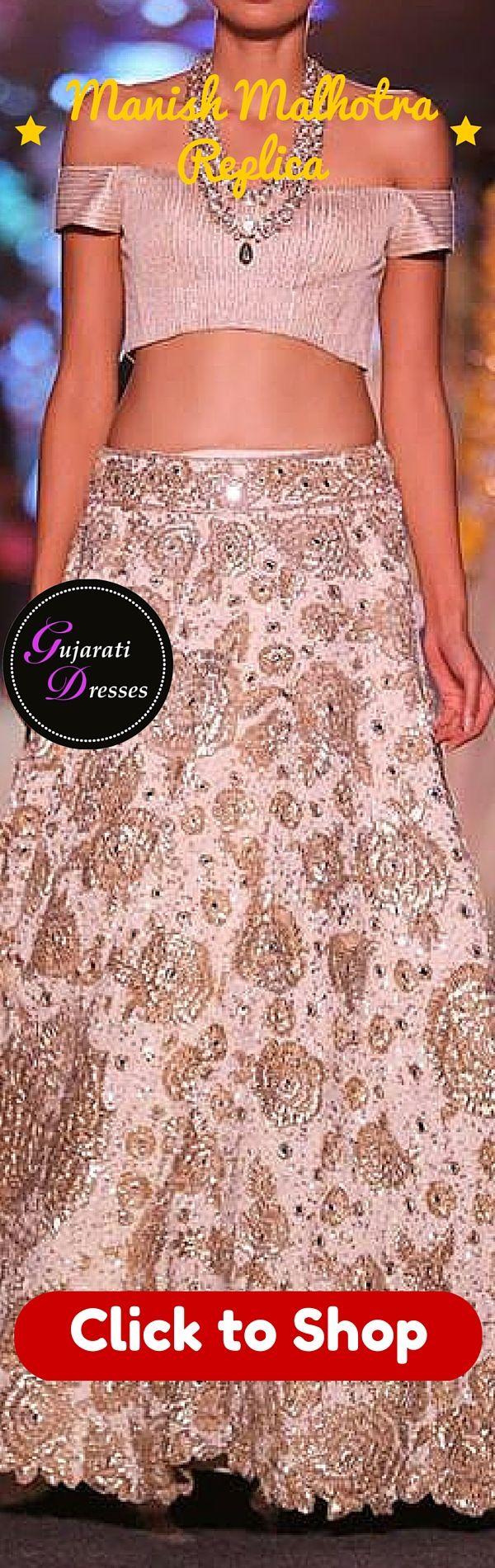 Buy Manish Malhotra replica of this  cream lehenga choli showcased at lakme fashion week 2015 here: http://www.gujaratidresses.com/manish-malhotra-lehenga-choli-2015/ at 2500$ USD #lehenga #lehengacholi #bridal #bridaldress #indianbride #indianbridal #indianfashion #indiandesigner #designerwear #indianwear #indianclothing #indianoutfit #manishmalhotra #lakmefashionweek #lfw #lengha #sari #saree #bridetobe #indianwedding #weddingdress