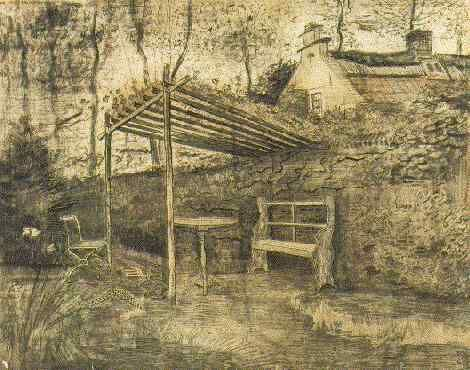 Vincent van Gogh: The Watercolours. Garden with Arbor