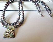 Abalone Pearl Jewelry Necklace