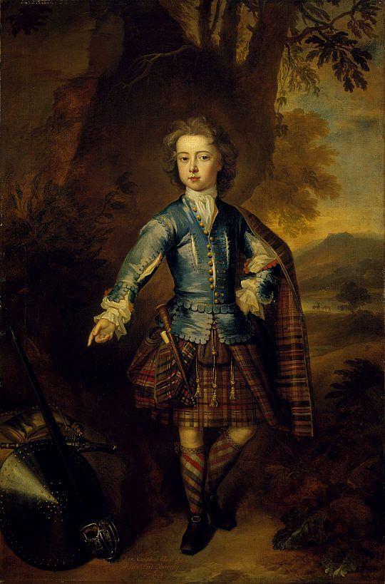 John Campbell 3rd Earl of Breadalbane, 1708, Charles Jervas