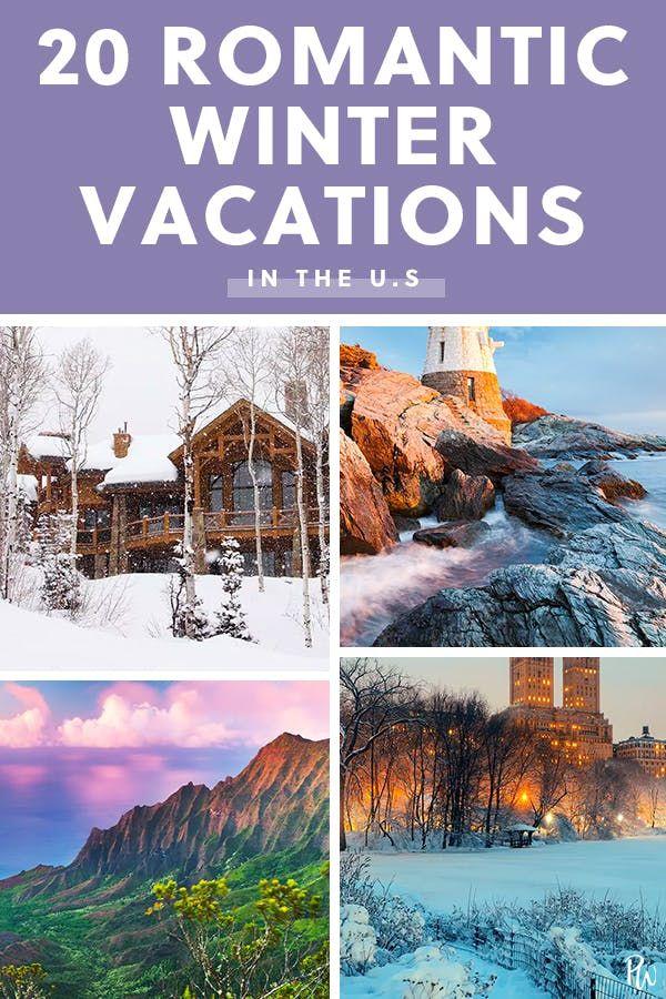 Winter Getaways: 20 Romantic Winter Weekend Getaways In The U.S.