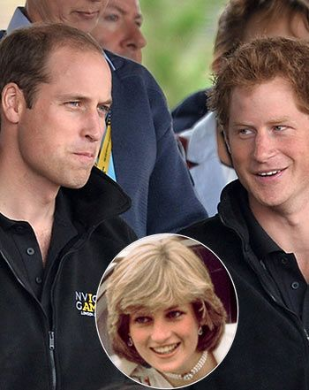 Prince William, Harry Share Memories of the Late Princess Diana: Video - Us Weekly