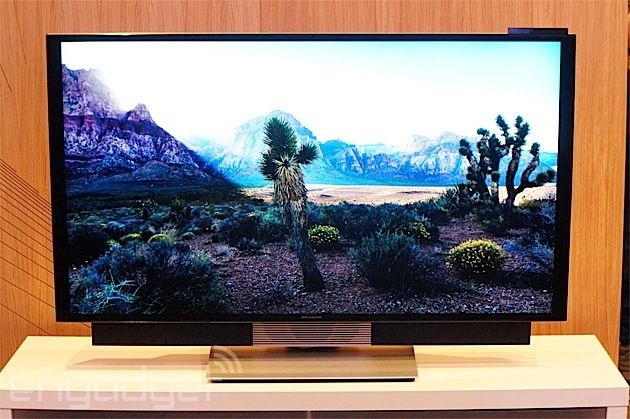 Bang & Olufsen's BeoVision Avant is a 55-inch UHD TV that moves - 4K