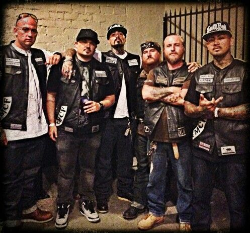 Members Of Brothers Of Resistance MC And Originals MC