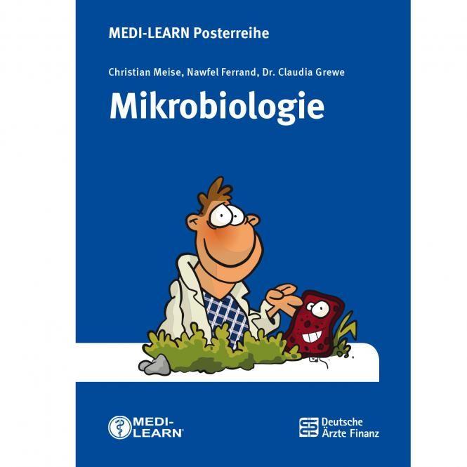 Mikrobiologie-Poster - Aufgrund von Lieferschwierigkeiten erscheint dieser Titel erst Anfang Februar 2016. Die durch Bakterien und Viren hervorgerufenen Infektionskrankheiten stellen hohe Anforderunge