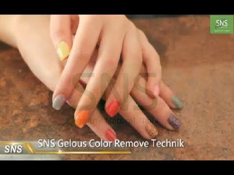 SNS NAILS - Signature Nail Systems: HOW TO REMOVE SNS NAILS? - YouTube