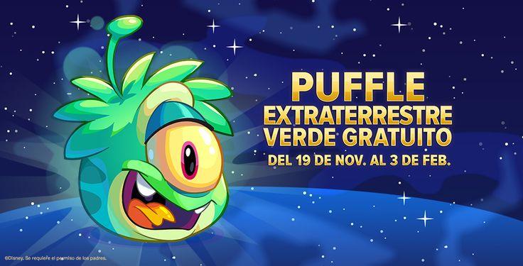 Puffle verde gratuito solo del 19/11/15 al 03/02/16