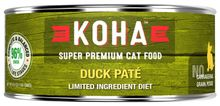 Koha Limited Ingredient Duck Pate Canned Cat Food 5.5oz