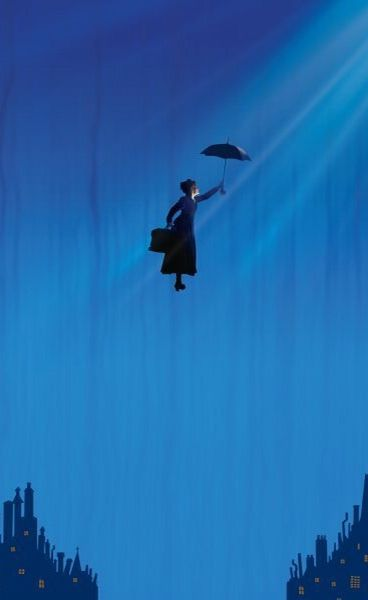 Mary Poppins, another family favorite.  No wonder deep in our hearts we all (grandma, mom, daughter) know we can fly.