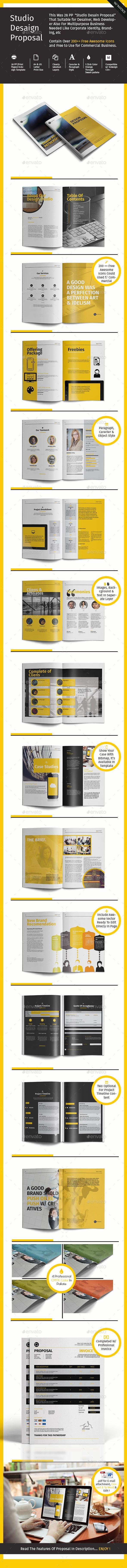Studio Design Proposal Template PSD | Buy and Download: http://graphicriver.net/item/studio-design-proposal/9522921?ref=ksioks