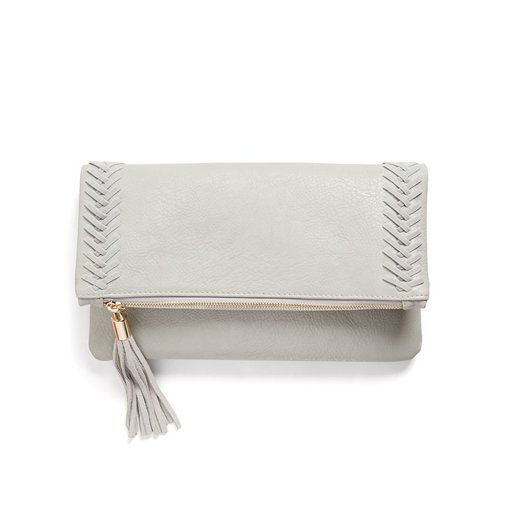 Stitch Fix Summer Accessories | Palermo Stitch Detail Clutch. Love it!