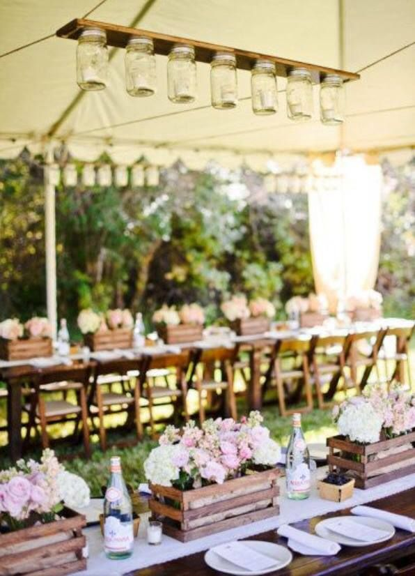 22 best images about rustic wedding marquee hanging On country wedding marquee ideas