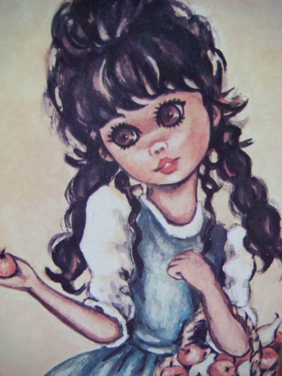 Image result for wide eyed kids painting
