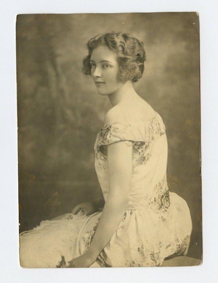 Vintage Press Photo 4 X 6 Antonia Mary Benson Viscountess