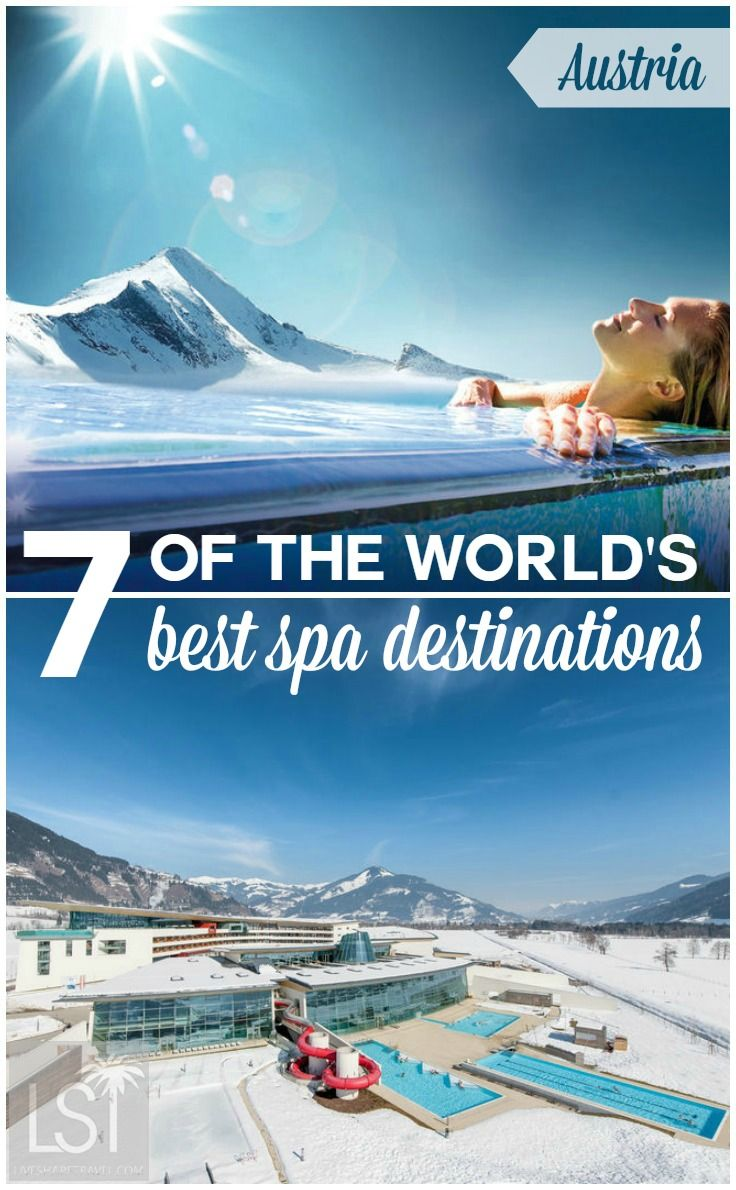 Discover some of the best spa destinations in the world for some much needed pampering from Finnish saunas to island hideaways offering indulgent treatments. With Austrian spas featuring alpine views and Caribbean forest retreats, here's some of the best places for your next wellness escape.