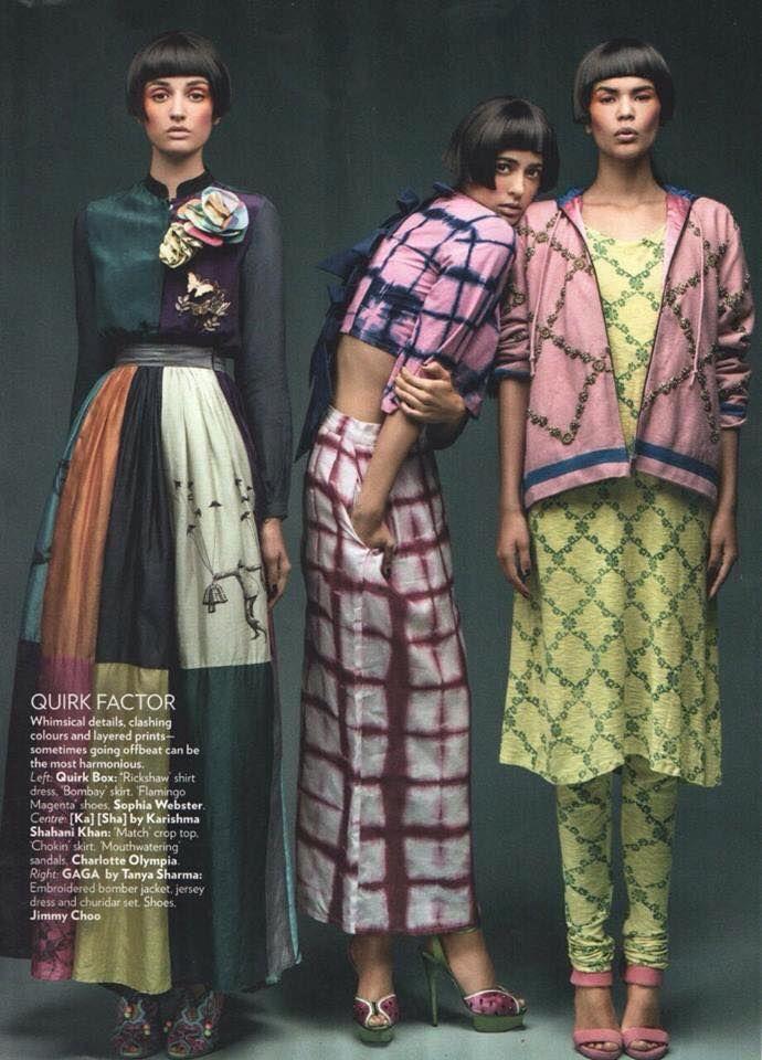 Ka Sha. Vogue, January 2015.