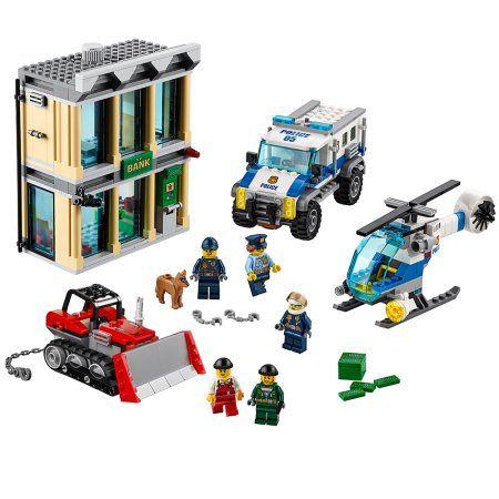 LEGO City Police Bulldozer Break-in 60140 Image 1 of 6
