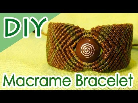 Winding knot bracelet using beads how to make [macrame knitting] SEDONA Vortex Stone Beads Macrame Bracelet Tutorial - YouTube
