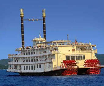 Showboat Branson Belle Lunch & Dinner Cruises - Featuring a three-course meal, variety show, and opportunity to sightsee along Table Rock Lake, the Showboat Branson Belle offers an encompassing time of entertainment while visiting Branson, MO.