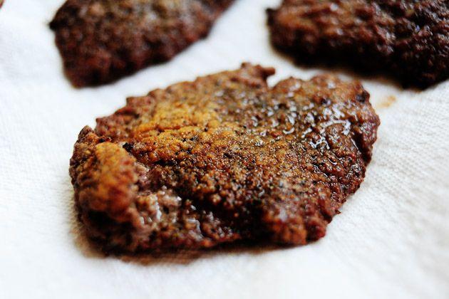 Fried Round Steak | Receta | Filetes a la minuta, Cocina y ...