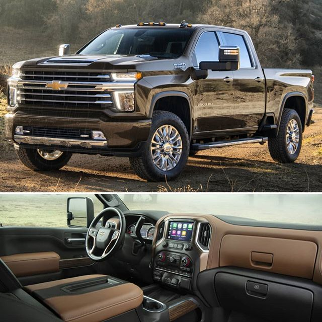 Chevrolet Silverado Hd 2020 A General Motors Apresentou