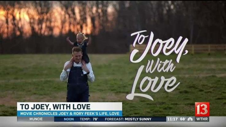 To Joey, with Love: Rory Feek shares story of love