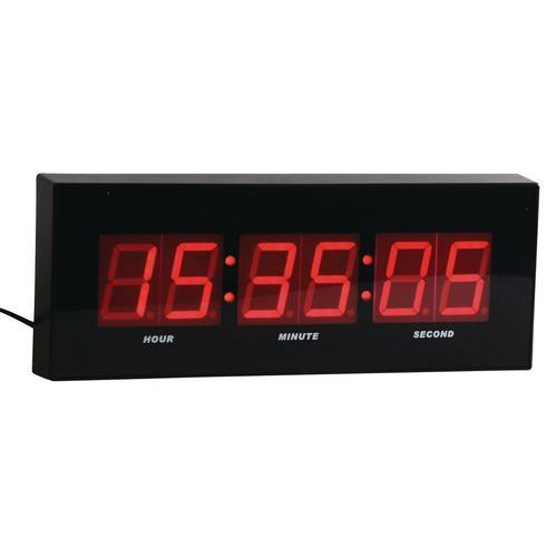 Horloge LED - Manutan