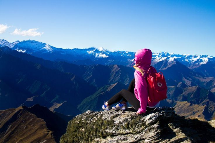 New Zealand travel -mountain Ben Lomond