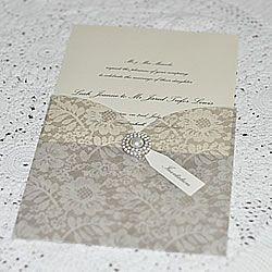 Lace Vellum Wedding Invitations Make Your Own Wedding Invitations