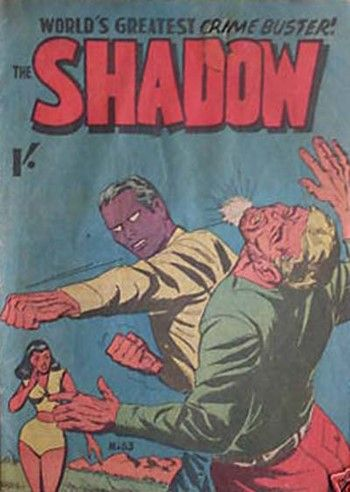 The Shadow (Tricho, 1961 series) #83  ([July 1961?])