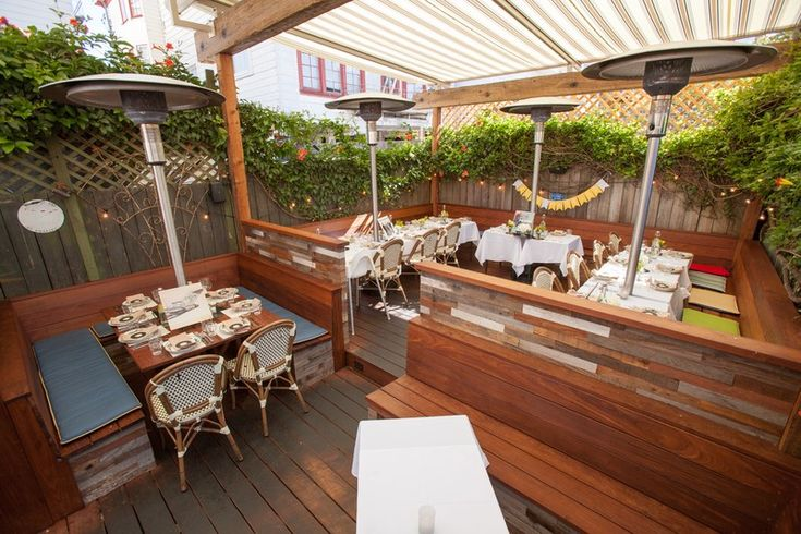 zazie- go for brunch, order the la mer benedict and a grapefruit mimosa, sit out back on the deck.