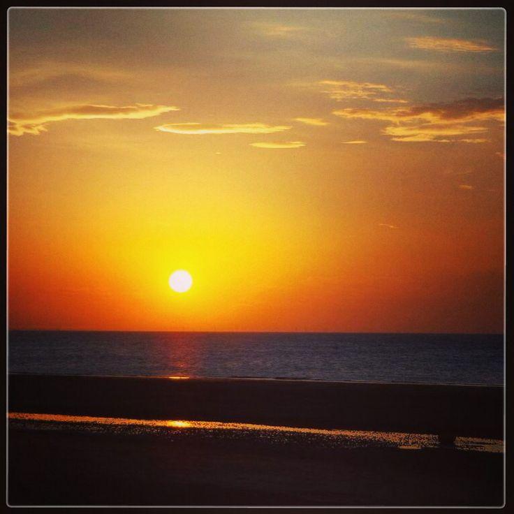 Sunset from New Brighton