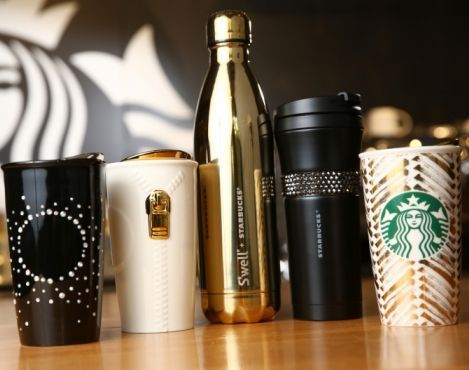 From a metallic red ornament adorned with Swarovski crystals to a gold S'well bottle. Starbucks and Teavana offer a collection of exceptional, limited-edition merchandise for holiday gifting.