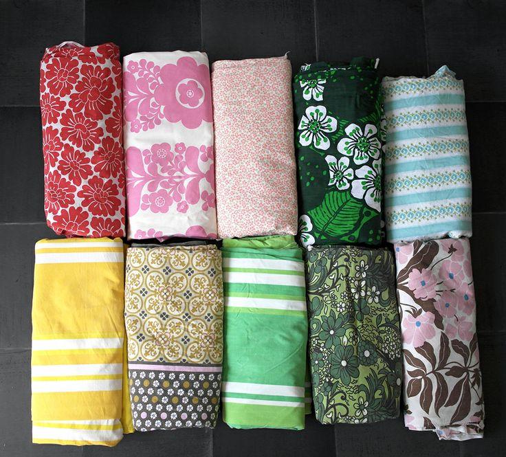 Retro duvet covers
